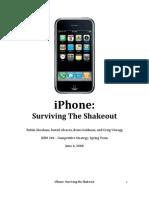 Apple iPhone SWOT