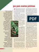 Agroecología  un enfoque para nuevas políticas