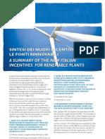Energy Alert Rome Renewable Plants