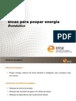 Dicas para poupar energia_Doméstico