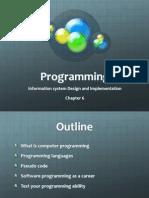 iSD Programming