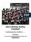 2012 BK Football Stats - Highlights