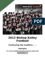 2012 BK Football Stats - Highlights