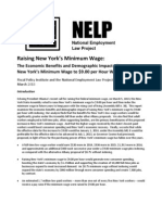 Fiscal Policy Institute minimum wage analysis