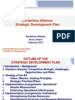 Borderless Alliance Strategic Plan