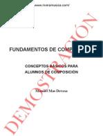 Fundamentos de Composicion (Musica)