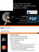 Movilización de Conocimiento Abierto y Apropiación de Recursos Educativos Abiertos (REA)