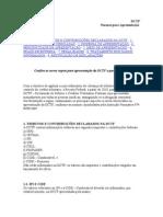 DCTF - Normas de apresentação