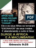 ÁFRICA E A MACUMBA