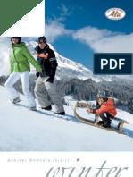 Winter Holiday Brochure - Hotel Uebergossene Alm near Salzburg, Austria