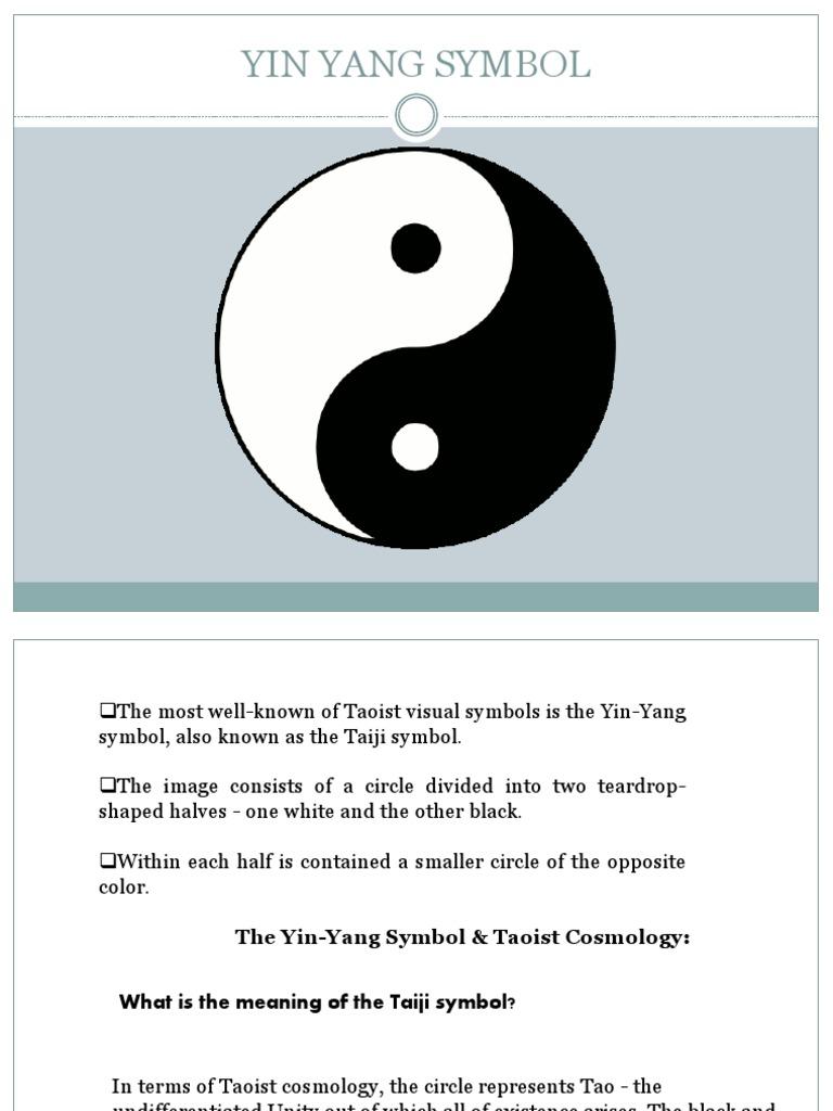 Yin Yang Symbol Sudh Eastern Philosophy Yin And Yang