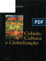 FORTUNA, Carlos - Cidade, Cultura e Globalização (introdução).pdf