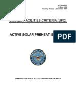 Active Solar Preheat Systems