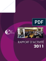 Rapport Activite 2011