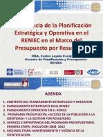 1 Importancia de la Planificación Estratégica y Operativa PpR - Mag Carlos Loyola