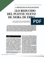 Modelo Reducido Erosion Local Puentes