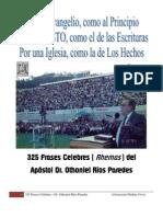 Máximas apostólicas del Dr. Othoniel Ríos