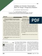 Alterações Hematológicas em Amostras Armazenadas e analisadas em condições de tempo e temperatura distintos