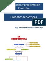 Programacion Curricular - Unidades Didcticas
