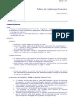 Roteiro de Implantaç¦o Financeiro
