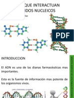 Farmacos Que Interactuan Con Los Acidos Nucleicos