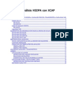Análisis HSDPA con XCAP