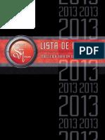 Precios 2013