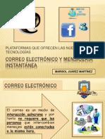Correo electrónico y mensajería instantánea