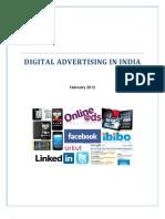 Digital Advertising Report February 2012