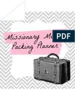 Missionary Mom's Packing Planner