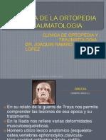 Historia de La Ortopedia y Traumatologia
