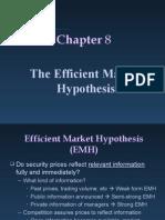 Ch08 Efficient Market