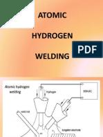 Atomic Hydrogen Welding