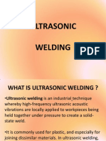 Ultrasonic Welding