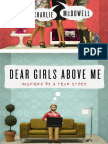 Dear Girls Above Me by Charlie McDowell - Excerpt