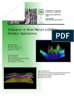 Evaluation of Multi-Return LIDAR for Forestry Applications