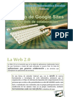 Presentacion Google Sites [Modo de ad