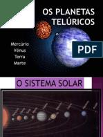 Os planetas telúricos