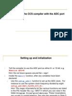 ADC Port CCS Compiler