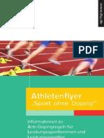 Dsj Athleteninfo Sport Ohne Doping