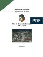 Pdm Municipio de San Benito