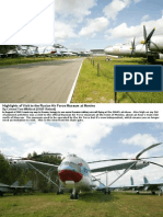 Highlights of Visit to the Rusian Air Force Museum At