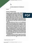 Ingold 7 Temas Antrop Tecnologia