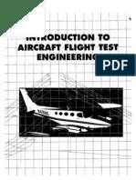 Aircraft Flight Testing Design