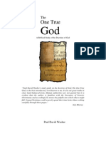 Paul Washer - One True God