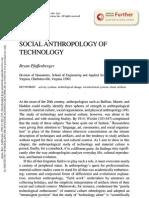 Techonology, antrho Pfaffenberger
