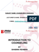 Chap 1-Intro to Counseling