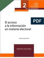 El acceso a la información electoral