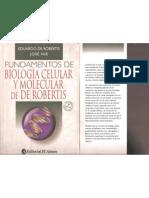 Fundamentos de Biologia Celular y Molecular - De Robertis.pdf