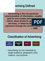 Classification of Advertisement